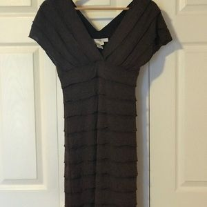 Dresses & Skirts - Brown - dress perfect for spring and fall....